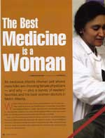 The Best Medicine is a Woman.  Atlanta Woman Magazine.
